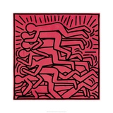 Untitled, 1982 Lmina gicle por Keith Haring