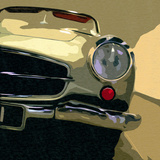 Mercedes Classic Prints by Malcolm Sanders