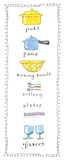 Cups and Saucers Posters by Kate Mawdsley