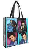 Elvis Presley Anniversary Large Recycled Shopper Tote Tote Bag
