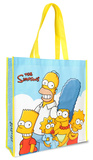 The Simpsons Large Recycled Shopper Tote Sacola