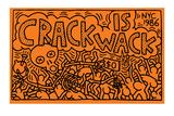 Keith Haring - Crack is Wack Digitálně vytištěná reprodukce
