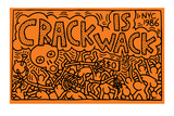 Crack is Wack Lámina giclée por Keith Haring