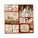 Sin título, 1981 Lámina giclée por Keith Haring