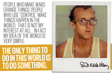 Do Something Prints by Keith Haring