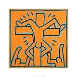 Untitled, 1984 Giclée-tryk af Keith Haring