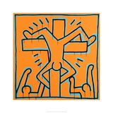 Untitled, 1984 Lmina gicle por Keith Haring