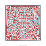 Untitled, 1989 Reproduction procédé giclée par Keith Haring