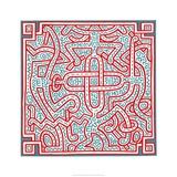 Untitled, 1989 Reproduction procédé giclée par Keith Haring