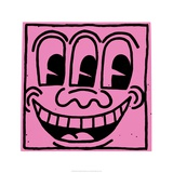Keith Haring - Beze jména, 1981 Digitálně vytištěná reprodukce