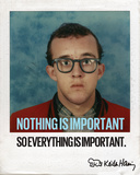 Nothing is Important Photo by Keith Haring