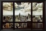 New York Window Posters
