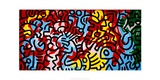 Untitled Giclee Print by Keith Haring