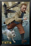 Tintin and Snowy Affiche