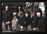 Ramones-Amsterdam 1977 Affiches