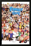 Family Guy Characters Plakater