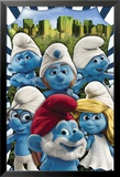The Smurfs- New York Láminas
