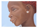 Brown Introspection, 2007 Giclee Print by Kaaria Mucherera