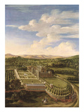 Wollaton Hall and Park, Nottingham, 1697 Giclee Print by Jan Siberechts