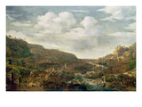 Rhineland View, 17th Century Giclee Print by Herman the Younger Saftleven