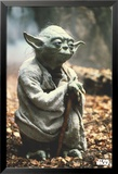 Star Wars-Yoda Kunstdruck