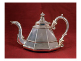 Teapot, Probably Based on an Early 18th Century Dutch Example, London 1832 (Silver) Giclee Print by Edward Farrell