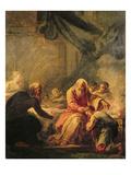 The Prodigal Son Giclée-Druck von Jean-Honoré Fragonard