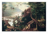 Temptation of St.Anthony, C.1550-75 (Oil on Panel) Giclee Print by Pieter the Elder Bruegel