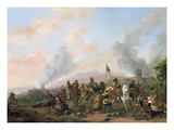 The Sacking of a Village Giclee Print by Philips Wouwermans Or Wouwerman
