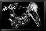 Lady Gaga - Album Cover - Bike Kunstdruck