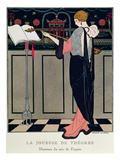 Summer Evening Wear from Art Gout Beaute, 1922 Lámina giclée por Barbier, Georges