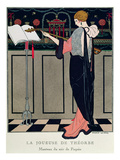 Summer Evening Wear from Art Gout Beaute, 1922 Giclee Print by Georges Barbier