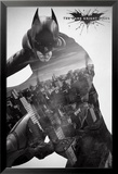 The Dark Knight Rises-City Silhouette Affiches