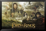 Lord of the Rings-Trilogy Kunstdruck