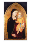 Madonna and Child (Oil on Panel) Giclee Print by  Master of the Virgin of Mercy