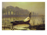 The Lady of Shalott', c.1875 Giclee Print by John Atkinson Grimshaw