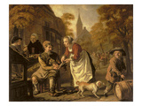 A Village Scene with a Cobbler, c.1650 Giclee Print by  Victors