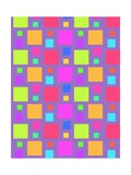 Multicoloured Squares, 2011 Giclee Print by Louisa Knight