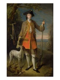 Sir Edward Hales, 1744 Premium Giclee Print by Philippe Mercier