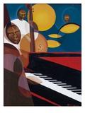 Cobalt Jazz, 2007 Giclee Print by Kaaria Mucherera