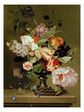 Still Life with Flowers (Oil) Gicl&#233;e-Druck von Marie Geertruida Snabille