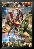 The Avengers Action Posters