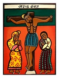 Jesus Dies, 2006 Giclee Print by Laura James