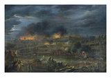 The Bombardment of Lille in 1792 Giclee Print by Francois Louis Joseph Watteau
