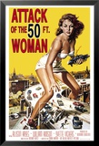 Attack Of The 50Ft Woman Lámina