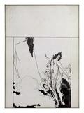 Fourth Tableau of Das Rheingold, (Cover Design for Savoy No. 6) Giclee Print by Aubrey Beardsley