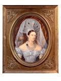 Empress Alexandra Feodorovna (Ivory) Giclee Print by Ivan Winberg