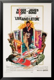 James Bond-Live and Let Die Kunstdrucke