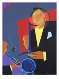 Jazz Sharp, 2007 Giclee Print by Kaaria Mucherera