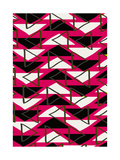 Triangles Giclee Print by Louisa Knight